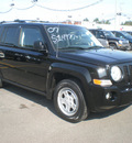 jeep patriot 2007 black suv sport gasoline 4 cylinders 4 wheel drive automatic 13502
