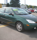 ford focus 2000 green coupe zx3 gasoline 4 cylinders front wheel drive automatic with overdrive 13502