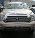 toyota tundra 2007 gold limited gasoline 8 cylinders 4 wheel drive automatic 13502