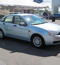 ford focus 2008 blue sedan gasoline 4 cylinders front wheel drive automatic with overdrive 13502