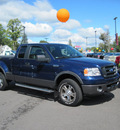 ford f 150 2008 blue flareside gasoline 8 cylinders 4 wheel drive automatic with overdrive 13502
