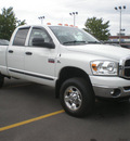dodge ram 2500 2007 white diesel 6 cylinders 4 wheel drive automatic with overdrive 13502