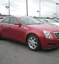 cadillac cts 2008 red sedan gasoline 6 cylinders rear wheel drive automatic 13502