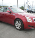 cadillac cts 2008 red sedan gasoline 6 cylinders all whee drive automatic 13502