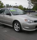 subaru impreza 2006 gray wagon gasoline 4 cylinders all whee drive automatic 13502