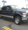 ford f 250 2008 blue super duty gasoline 8 cylinders 4 wheel drive automatic 13502