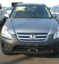 honda cr v 2006 gray suv ex gasoline 4 cylinders all whee drive automatic 13502