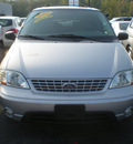 ford windstar 2003 gray van lx gasoline 6 cylinders front wheel drive automatic with overdrive 13502
