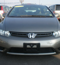 honda civic 2007 gray coupe ex gasoline 4 cylinders front wheel drive 5 speed manual 13502