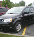 chrysler town country 2008 black van touring gasoline 6 cylinders front wheel drive automatic 13502