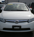 honda civic 2006 white sedan lx gasoline 4 cylinders front wheel drive automatic 13502