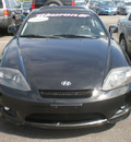 hyundai tiburon 2006 black coupe gasoline 6 cylinders front wheel drive automatic 13502