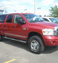 dodge ram 2500 2008 red diesel 6 cylinders 4 wheel drive automatic 13502