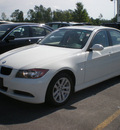 bmw 328xi 2007 white sedan gasoline 6 cylinders all whee drive automatic 13502