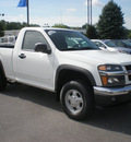 chevrolet colorado 2006 white pickup truck gasoline 5 cylinders 4 wheel drive automatic 13502
