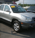 hyundai santa fe 2005 silver suv gasoline 6 cylinders all whee drive automatic 13502