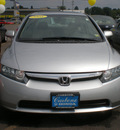 honda civic 2008 silver sedan ex gasoline 4 cylinders front wheel drive automatic 13502
