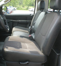 dodge ram 1500 2004 gray pickup truck st gasoline 6 cylinders rear wheel drive automatic 13502