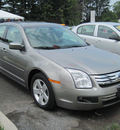 ford fusion 2008 gray sedan se gasoline 4 cylinders front wheel drive automatic 13502