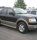 ford expedition 2004 black suv eddie bauer gasoline 8 cylinders 4 wheel drive automatic with overdrive 13502