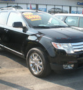 ford edge 2007 black suv sel gasoline 6 cylinders all whee drive automatic with overdrive 13502