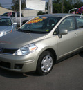 nissan versa 2007 tan sedan gasoline 4 cylinders front wheel drive automatic with overdrive 13502