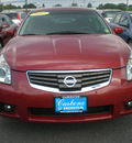 nissan maxima 2007 maroon sedan gasoline 6 cylinders front wheel drive automatic 13502