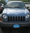 jeep liberty 2005 blue suv sport gasoline 6 cylinders 4 wheel drive automatic 13502