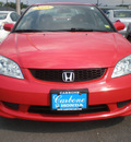 honda civic 2005 red coupe gasoline 4 cylinders front wheel drive automatic 13502
