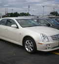 cadillac sts 2007 white sedan gasoline 6 cylinders automatic 13502