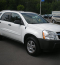 chevrolet equinox 2005 white suv ls gasoline 6 cylinders all whee drive automatic 13502