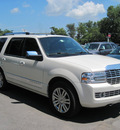 lincoln navigator 2007 white suv gasoline 8 cylinders 4 wheel drive automatic 13502