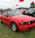 ford mustang 2008 red gt gasoline 8 cylinders rear wheel drive automatic 13502