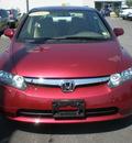 honda civic 2006 maroon sedan lx gasoline 4 cylinders front wheel drive automatic 13502