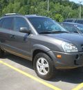 hyundai tucson 2007 gray suv gasoline 4 cylinders front wheel drive automatic 13502
