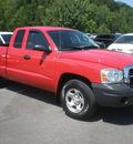 dodge dakota 2005 red st gasoline 6 cylinders 4 wheel drive automatic 13502