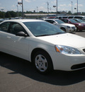 pontiac g6 2006 white sedan se gasoline 4 cylinders front wheel drive automatic 13502