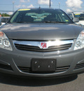 saturn aura 2007 gray sedan xe gasoline 6 cylinders front wheel drive automatic 13502
