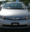honda civic 2008 silver sedan lx gasoline 4 cylinders front wheel drive automatic 13502
