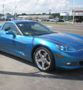 chevrolet corvette 2008 blue coupe gasoline 8 cylinders rear wheel drive 6 speed manual 13502