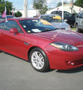 hyundai tiburon 2007 red coupe gs gasoline 4 cylinders front wheel drive automatic 13502