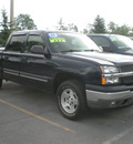 chevrolet silverado 1500 2005 blue gasoline 8 cylinders 4 wheel drive automatic 13502