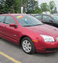 mercury milan 2007 red sedan gasoline 4 cylinders front wheel drive automatic 13502