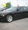 dodge charger 2006 black sedan r t gasoline 8 cylinders rear wheel drive automatic 13502