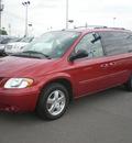 dodge grand caravan 2006 red van sxt gasoline 6 cylinders front wheel drive automatic 13502
