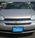 chevrolet malibu 2005 gray sedan gasoline 4 cylinders front wheel drive automatic 13502