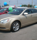 chevrolet malibu 2008 gold sedan lt gasoline 4 cylinders front wheel drive automatic 13502