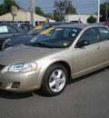dodge stratus 2006 gold sedan sxt gasoline 4 cylinders front wheel drive automatic 13502
