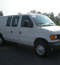ford e 250 2007 white van gasoline 8 cylinders rear wheel drive automatic with overdrive 13502