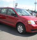 dodge grand caravan 2008 red van se gasoline 6 cylinders front wheel drive automatic 13502